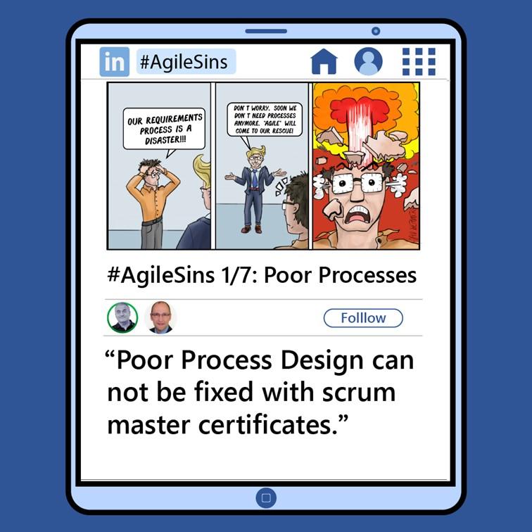 Agile Sin #1: Poor Processes