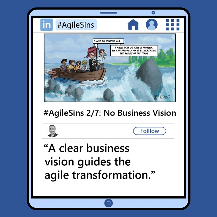 Agile Sin #2: No Business Vision