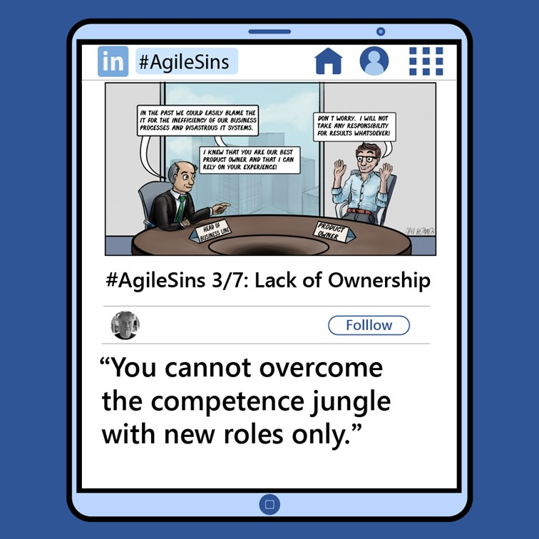 Agile Sin #3: Lack of Ownership