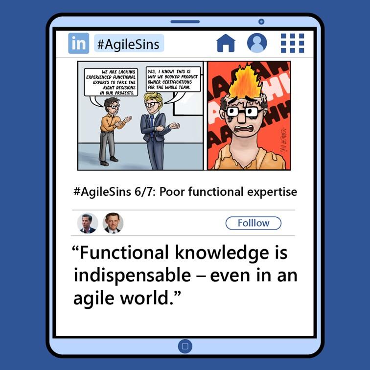 Agile Sin #6: Poor Functional Expertise
