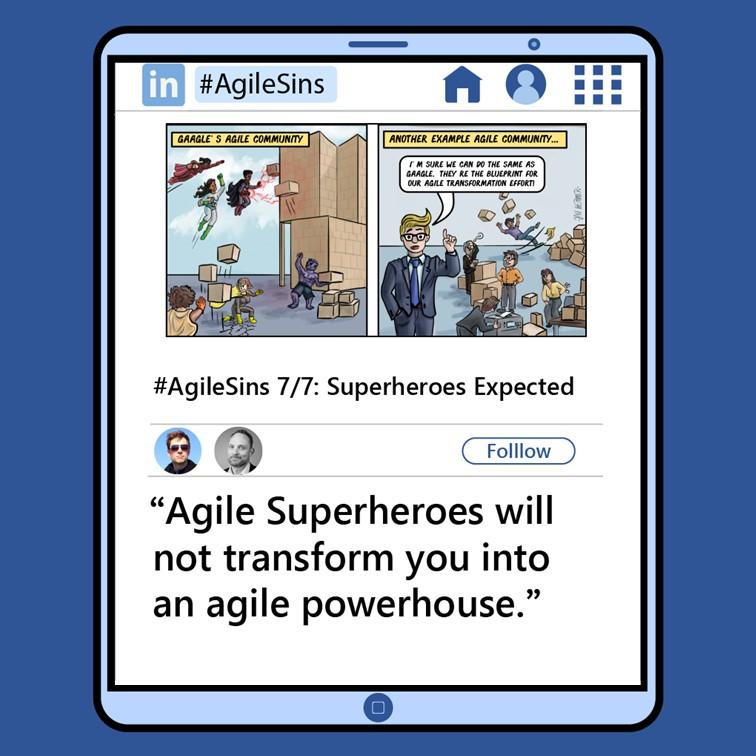 Agile Sin #7: Superheroes Expected